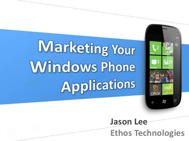 12 wp7   marketing windows phone applications