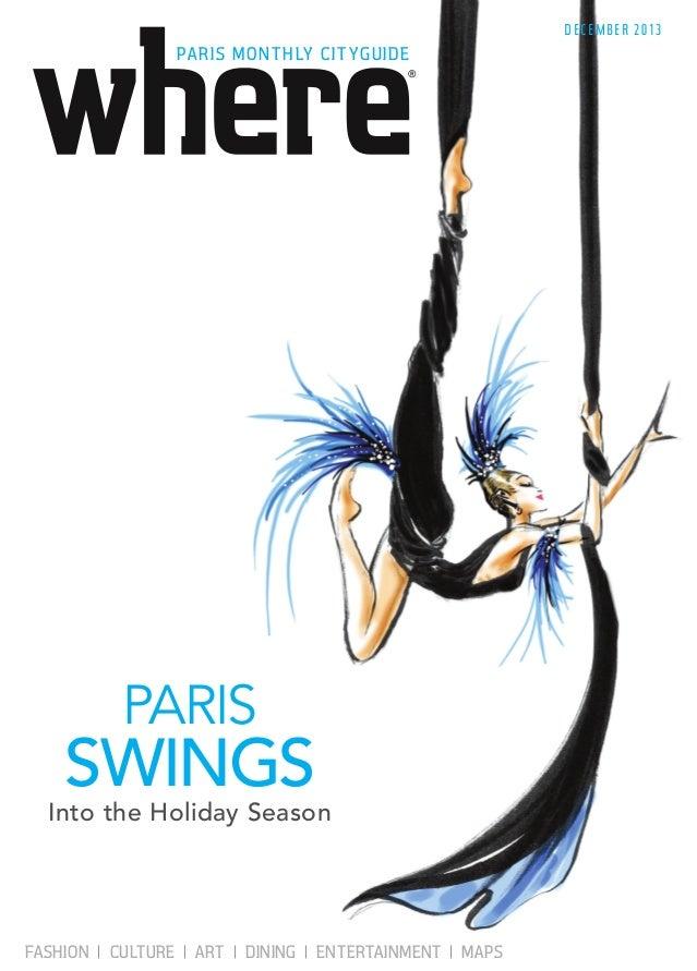 Magazine Where Paris n°239, english edition, daté décembre 2013