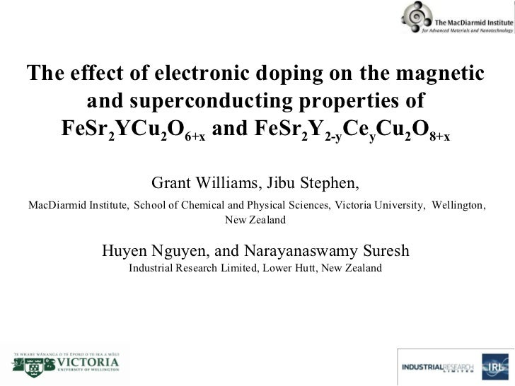 The effect of electronic doping on the magnetic and superconducting properties of FeSr 2 YCu 2 O 6+x  and FeSr 2 Y 2-y Ce ...