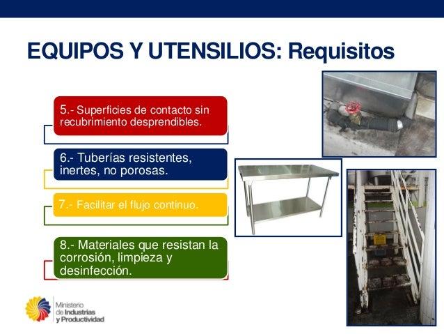 Sistemas de gesti n de la calidad buenas pr cticas de for Limpieza y desinfeccion de equipos y utensilios de cocina