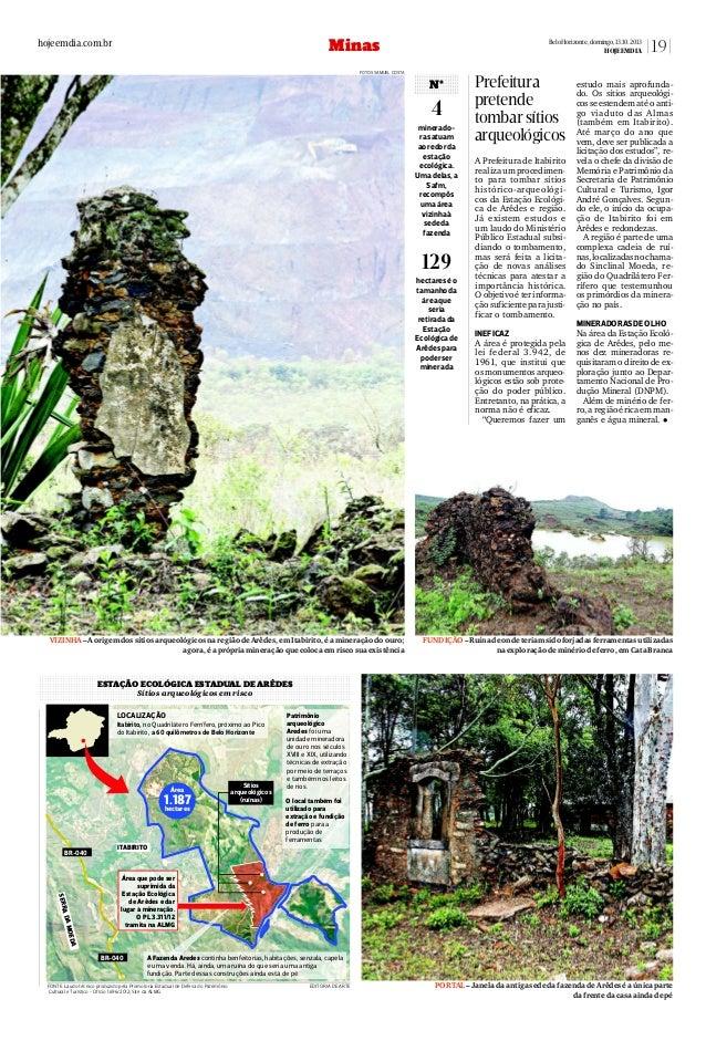 Estação Ecológica de Arêdes pode perder sítio arqueológico_13 10-13.2