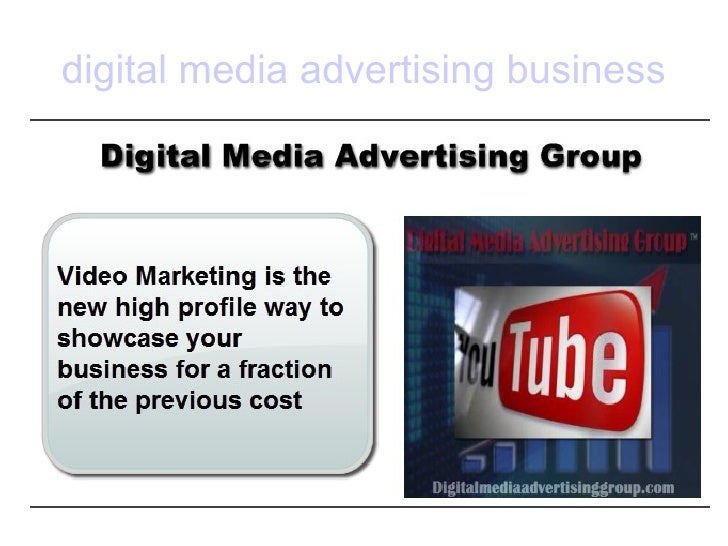 digital media advertising business