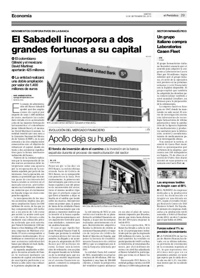 El gasto en textil (El periódico de Aragón)