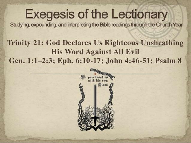 13.10.18 exegesis   trinity 21