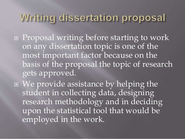 Help With Writing A Dissertation
