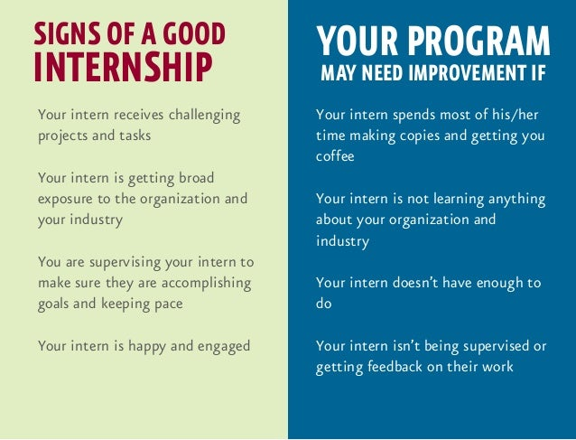 Good interships?
