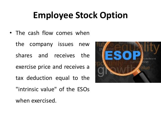 Tax deductibility of employee stock options