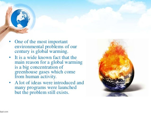 Anyone want to help with a research paper on Global Warming?