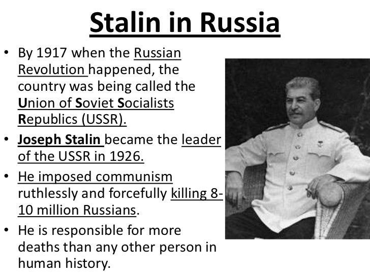 the rise of joseph stalin Joseph stalin's rise started after the october revolution when the tsar was taken out of power and the bolsheviks took over he was appointed the general secretary of the communist party.