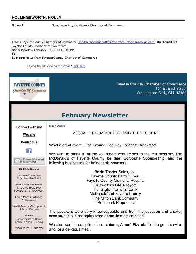 13.2.4 fayette county chamber of commerce newsletter   digital life