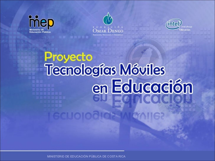 Proyecto tecnología móviles en Educación por Kathya Fallas