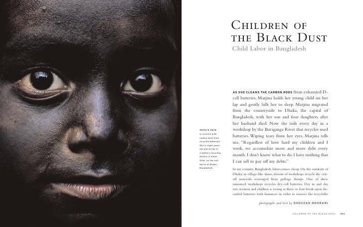 Children of                       the Black Dust                       Child Labor in Bangladesh                          ...