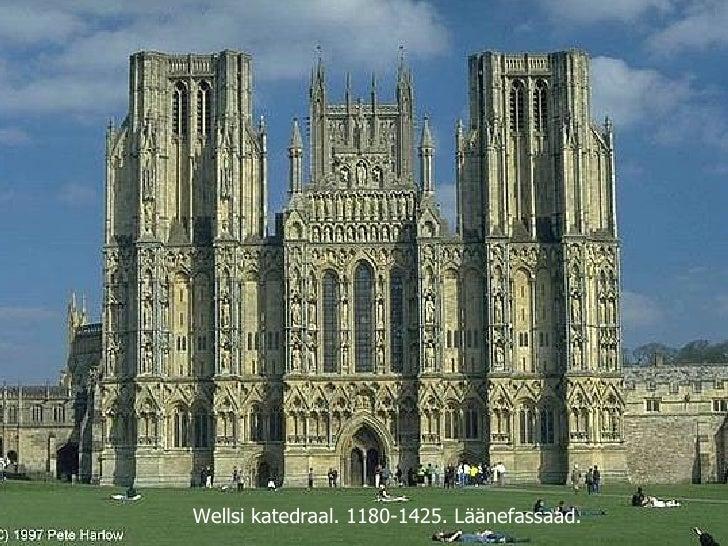Wellsi katedraal. 1180-1425. Läänefassaad.