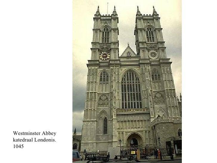 Westminster Abbey  katedraal Londonis.  1045