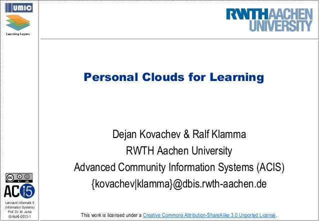Public Clouds for Learning