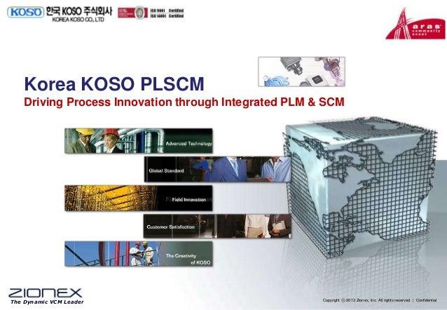 Korea Koso PLM and Supply Chain