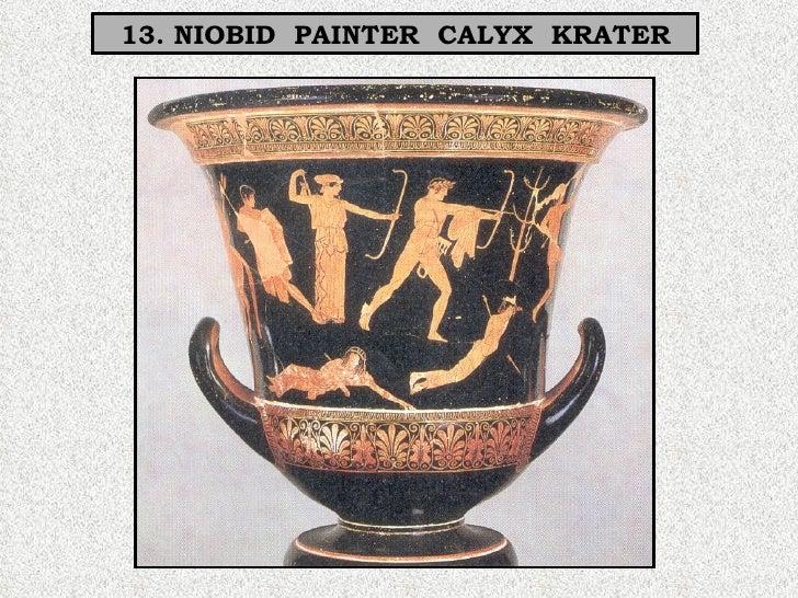 13. NIOBID  PAINTER  CALYX  KRATER