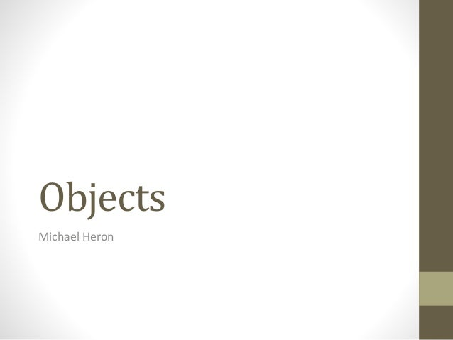 CPP13 - Object Orientation