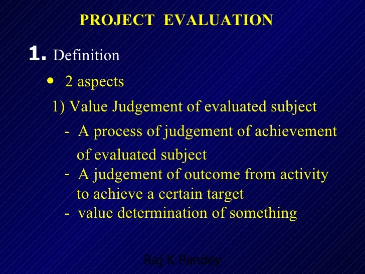 13 project monitoring and evaluation