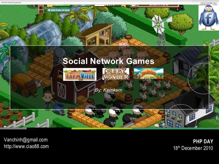 Social Network Games                               By: KemkemVanchinh@gmail.com                                      PHP D...