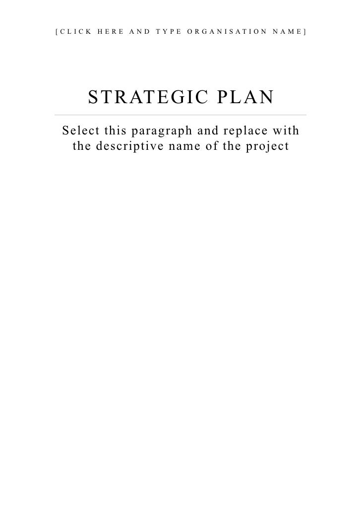 13. Strategic Plan Guide