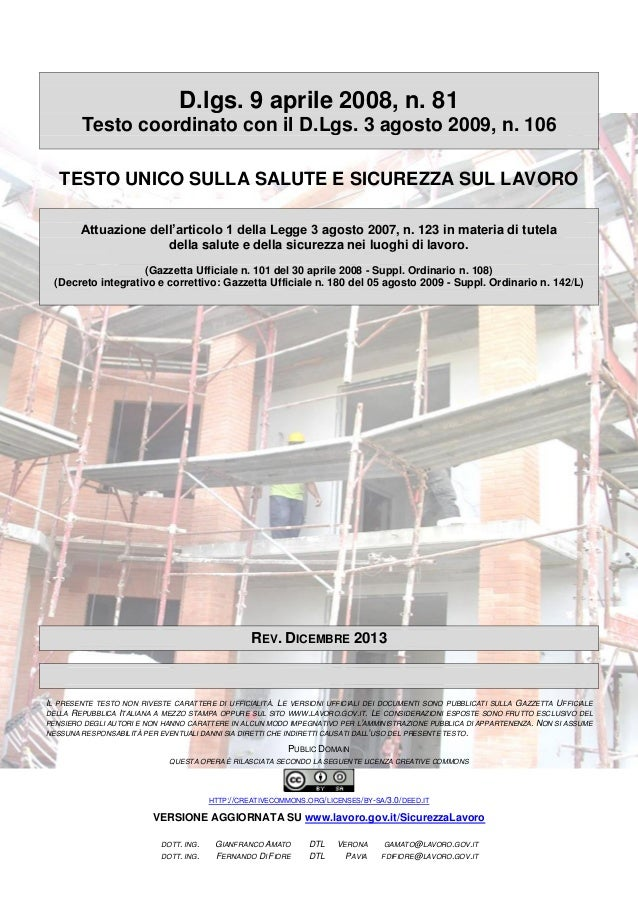 13  testo unicosicurezza-edizione_dicembre2013
