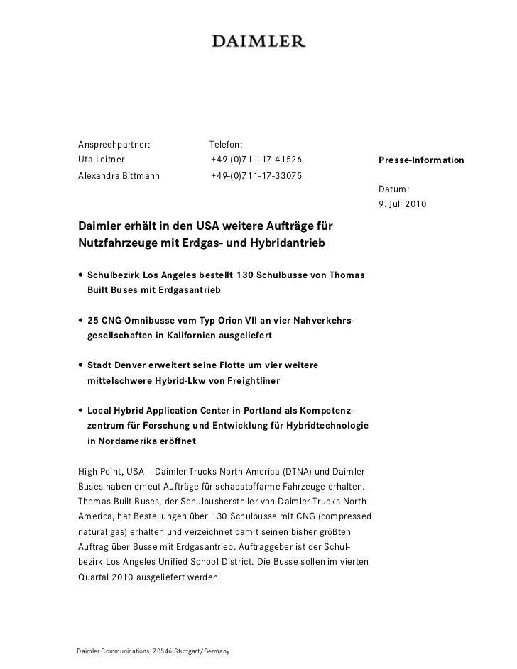 Ansprechpartner:                        Telefon:Uta Leitner                             +49-(0)711-17-41526               ...