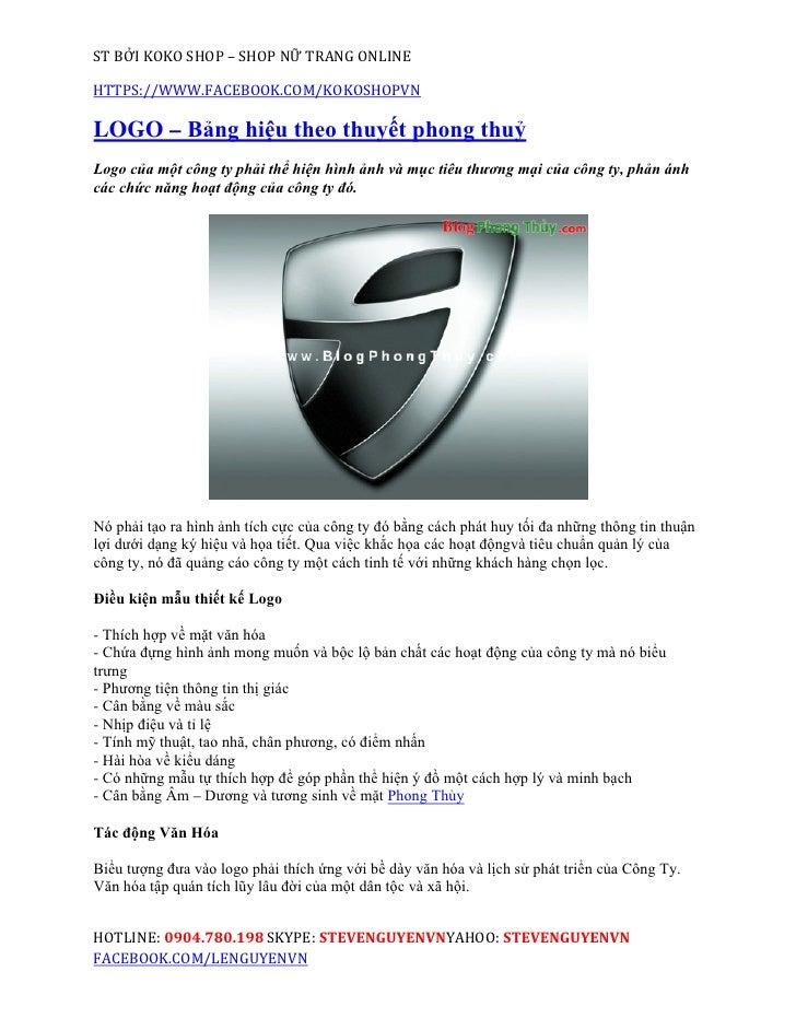 ST BỞI KOKO SHOP – SHOP NỮ TRANG ONLINEHTTPS://WWW.FACEBOOK.COM/KOKOSHOPVNLOGO – Bảng hiệu theo thuyết phong thuỷLogo của ...