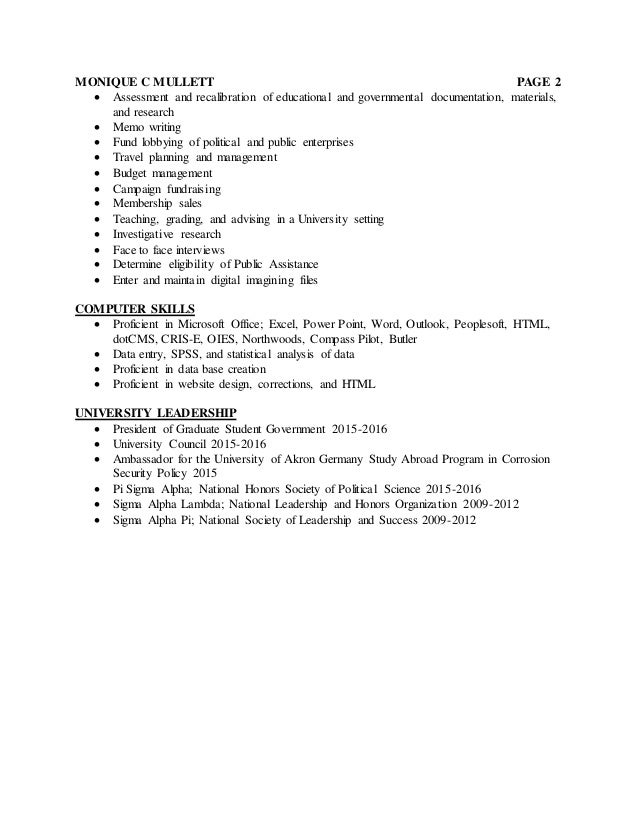 Grant peoplesoft project resume