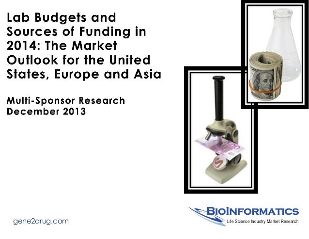 Report #13-008: Lab Budgets and Sources of Funding in 2014 - The Market Outlook for the United States, Europe and Asia