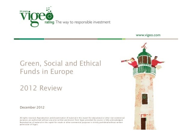 green social and ethical funds in europe