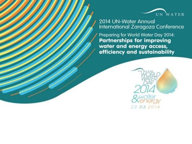 Effective Partnerships An example in water capacity development Kees Leendertse Zaragoza, 13/01.2014
