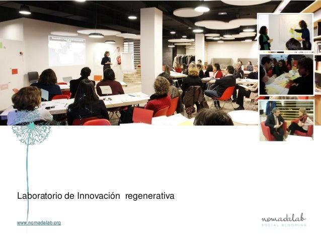 Laboratorio de Innovación regenerativa