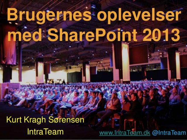 SharePoint 2013 - IT Forum