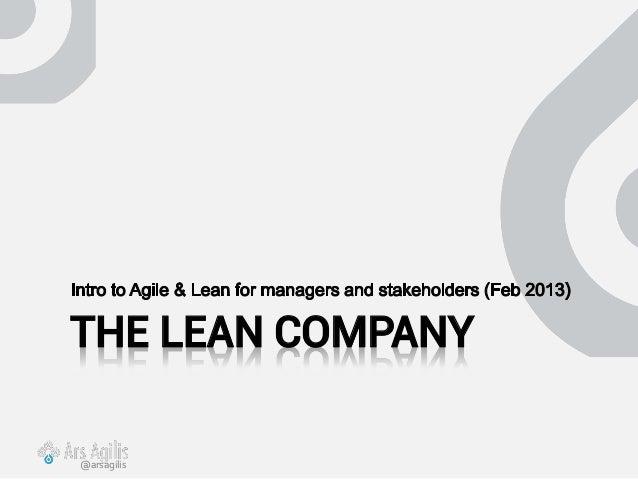 THE LEAN COMPANY@arsagilis