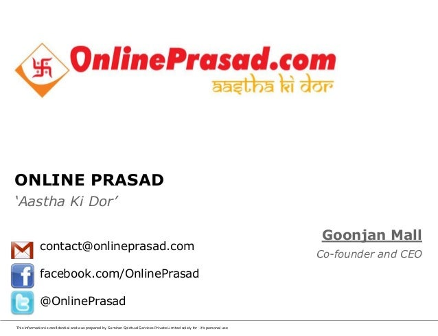 Why join OnlinePrasad.com?