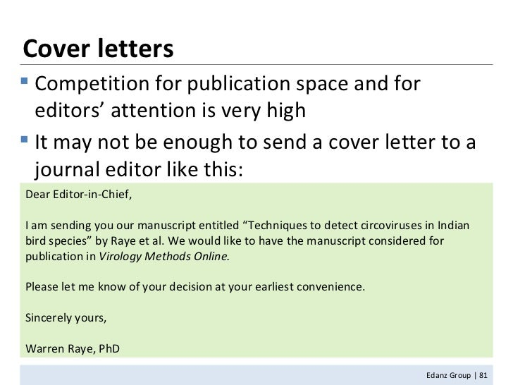 Journal Article Cover Letters - Gse.Bookbinder.Co