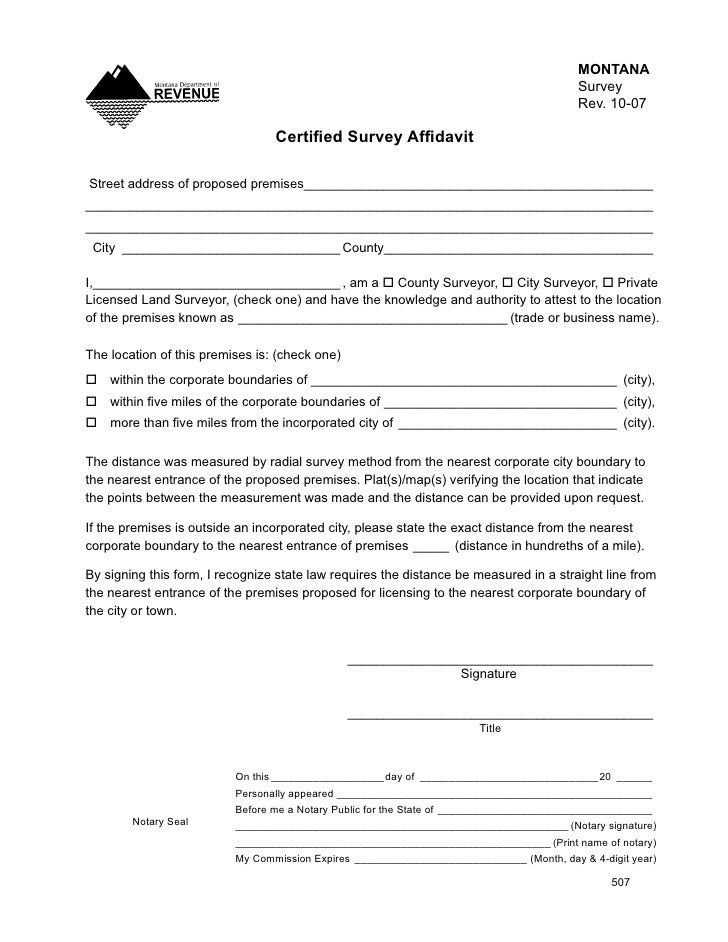 MONTANA                                                                                           Survey                  ...