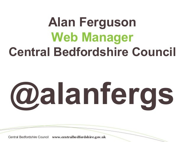 Internal search - an untapped resource | Alan Ferguson | BrightonSEO conference 12 April 2013