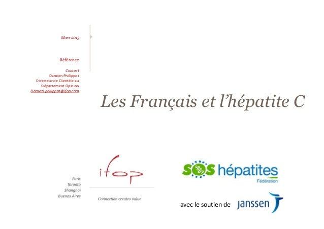 Les Français et l'hépatite C