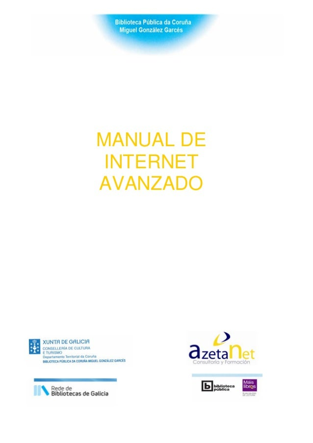 MANUAL DE INTERNET AVANZADO