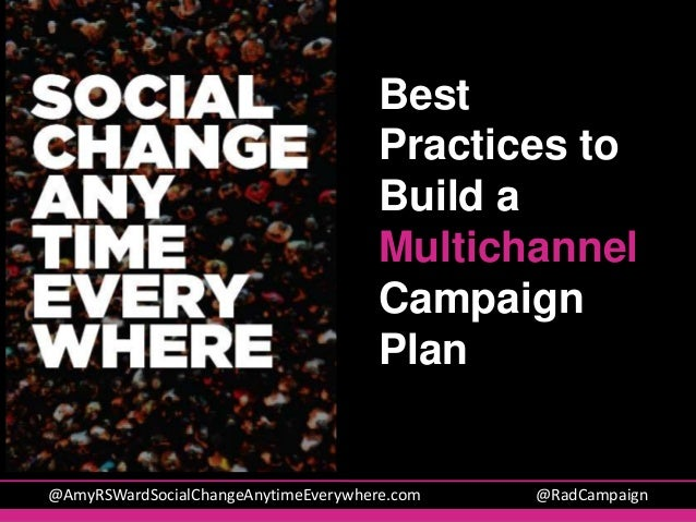 How to Create a Multichannel Campaign Plan