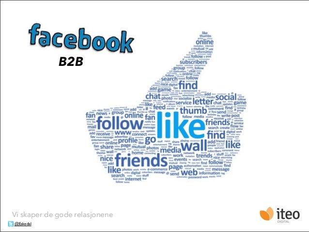 Facebook for B2B