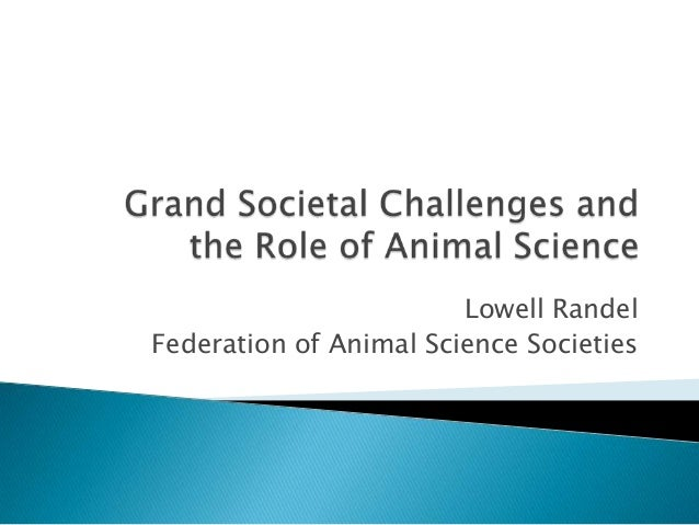 Lowell RandelFederation of Animal Science Societies