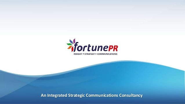 An Integrated Strategic Communications Consultancy