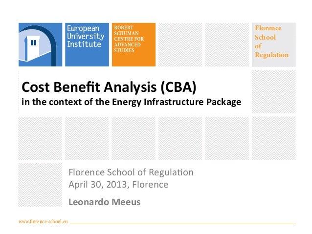 www.florence-school.euFlorenceSchoolofRegulationCost Benefit Analysis (CBA)  in the context of the Ener...