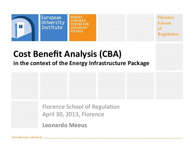 Webinar on cost benefit analysis in the context of the energy infrastructure package