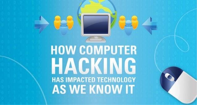 Why Hacking Isn't Always Bad