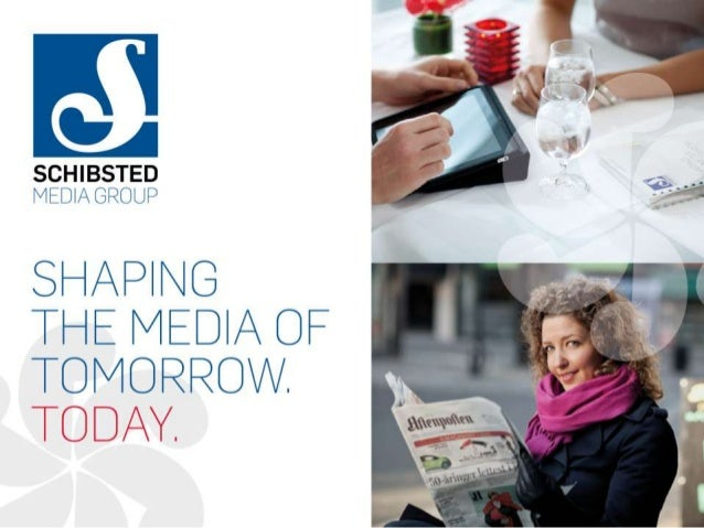 Christian Schibsted founded Schibsted Forlag in 1839 and Aftenposten in 1860 Today, Schibsted Media Group has 7 800 employ...
