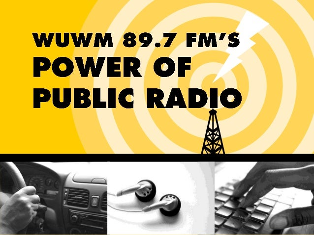 WUWM 89.7 FM's Power of Public Radio